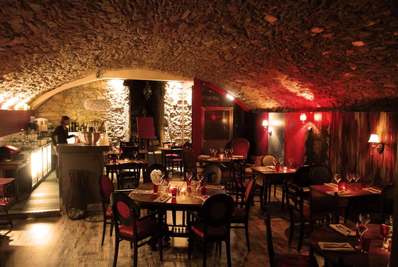 photos du restaurant la chimère dans le vieux lyon